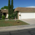 Sun City Arizona Rental Property  furnished 2dr/2b Duplex with front court yard for entertainment and 2 car garage